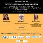 Seminário: Desafios e Perspectivas pós COVID-19 na Saúde e na Segurança Alimentar e Nutricional