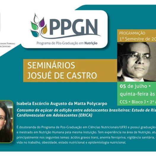 Seminários Josué de Castro