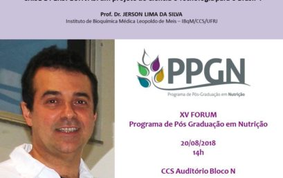 XV FORUM do PPGN/UFRJ: conferência do Professor Dr. Jerson Lima da Silva