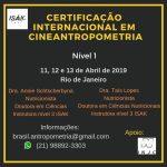 Certificação Internacional em Cineantropometria