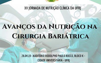 XV Jornada de Nutrição Clínica da UFRJ