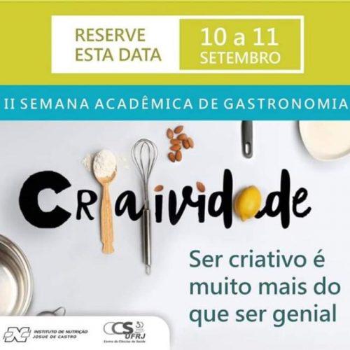 II Semana Acadêmica de Gastronomia