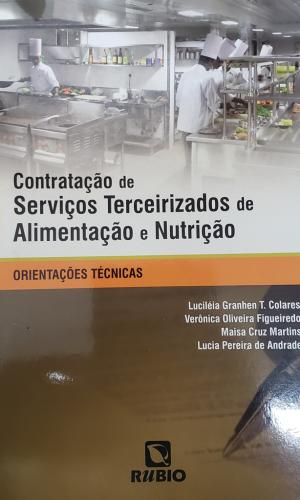 Capa livro Contratação de serviços Terceirizados 2014