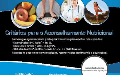 Aconselhamento Nutricional para Alunos de Graduação da UFRJ