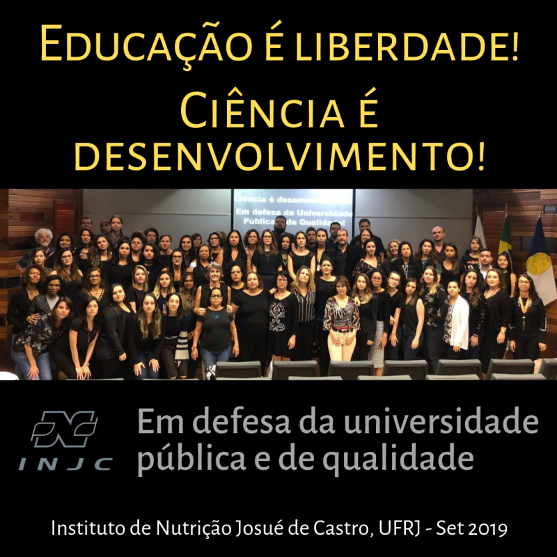 INJC em defesa da Universidade Pública