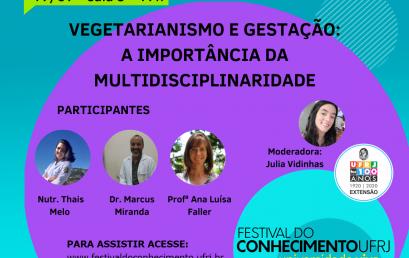 Vegetarianismo e Gestação: a importância da Multidisciplinaridade
