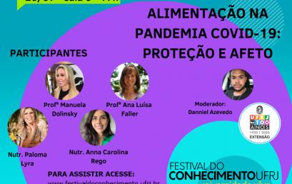 Alimentação na pandemia COVID-19: Proteção e Afeto