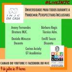 Universidade para todos durante a pandemia: perspectivas inclusivas
