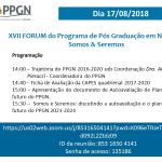 XVII Fórum do PPGN