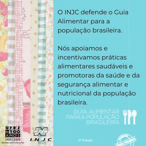 Moção de apoio ao guia alimentar para a população brasileira
