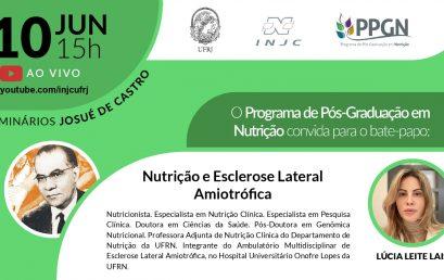 Seminário: Nutrição e Esclerose Lateral Amiotrófica