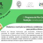 """Seminário: """"Diabetes e nutrição na infância: evidências para prática clínica"""""""