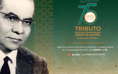Aniversário Josué de Castro 2021