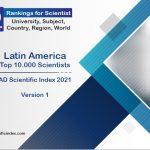 Docentes do INJC entre os melhores cientistas da América Latina
