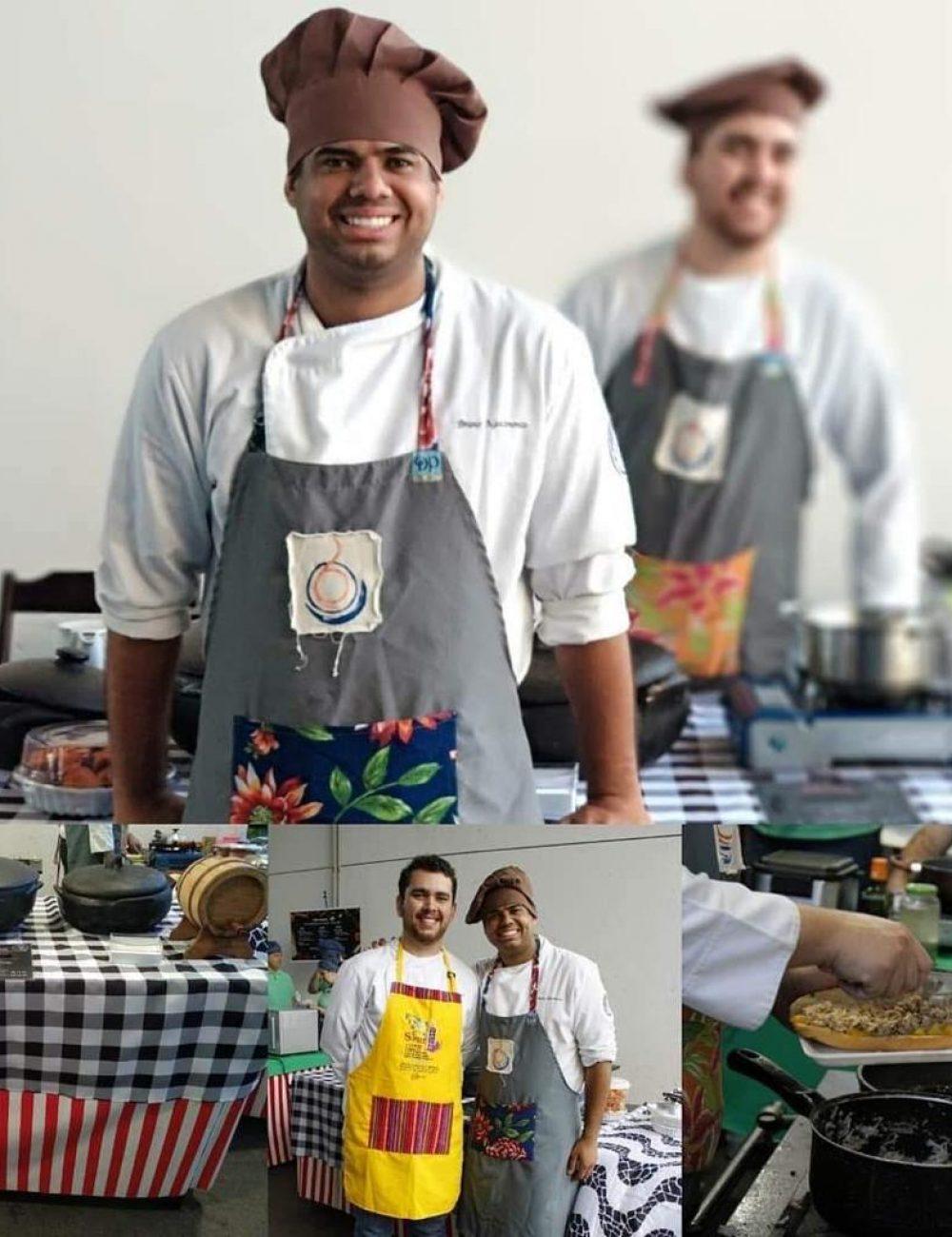 alunos curso Gastronomia participando da feira gastrnômica e cultural da UFRJ2