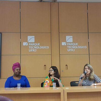 Debate no evento Semana da Gastronomia da UFRJ